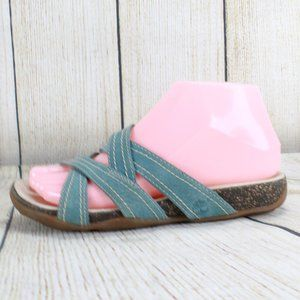 TIMBERLAND Strappy Crossover Slide Sandals Size 6